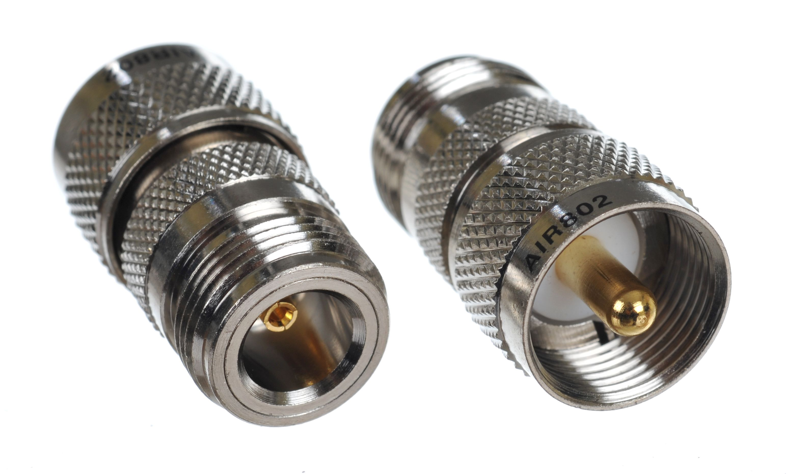 ADAPTER UHF MALE-N TYPE CONNECTOR FEMALE - MEGATRUST SHOP