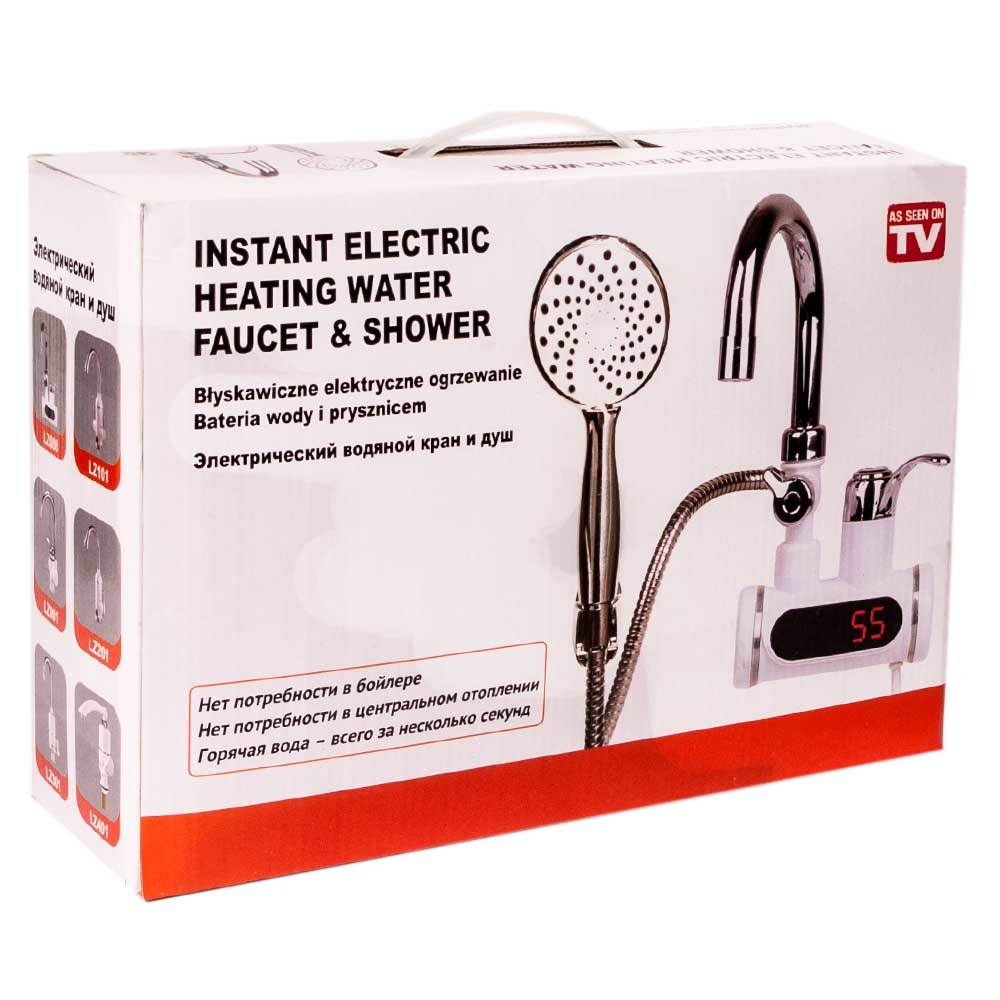 Image result for instant electric heating water faucet & shower